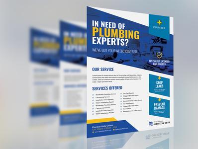Plumber Service Flyer