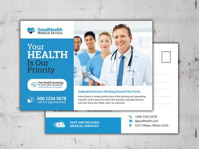 Medical Postcard