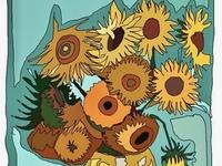 Sunflowers-Van Gogh