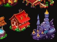 Grimm Reaper decorations