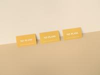 No Plans Business Cards