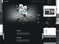 Rascal's Roundup Original branding event ui type dark ecommerce donation landing non profit nonprofit