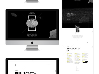Brand On Full art direction creative direction space im jack dusty ux web design tech science monospaced typography