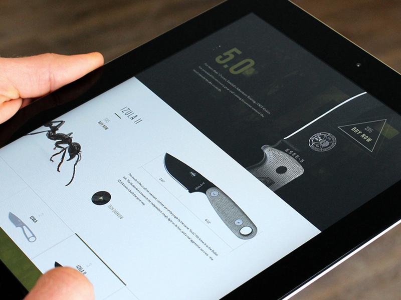 ESEE Knives  type elegant seagulls im jack dusty e-commerce knife ecommerce web shop angle triangle specs tech