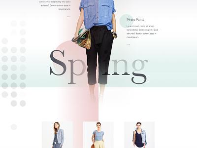 J.Crew art direction dots gradient jcrew womens store collection fashion e-commerce ecommerce im jack dusty