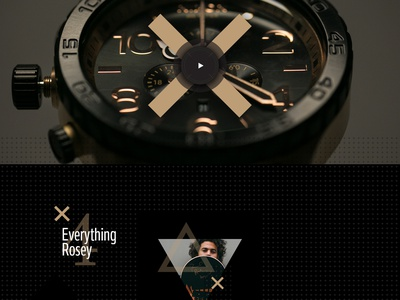 Nixon Paul Rodriguez creative direction art direction pattern nixon nike landing watch skateboard collection fashion e-commerce ecommerce