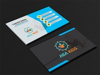 New logo an business card design package.