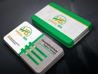New business card design.