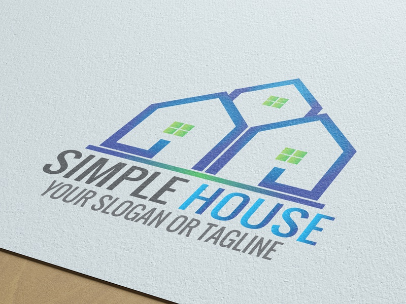 House logo design. wing template store star military marketing logo crests crest company bolpent accessories