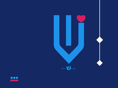 Hebrew type vector branding typography illustration design