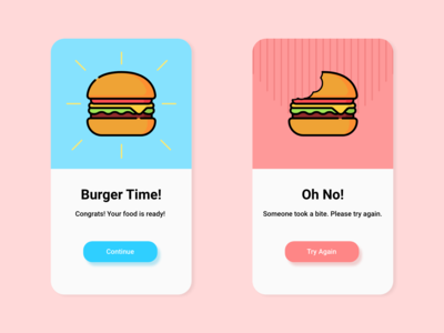 Daily UI #011 Flash Messages