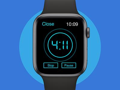 Daily UI #014 Countdown Timer apple watch countdowntimer smartwatch ios design ux design ux ui design sketchapp ui