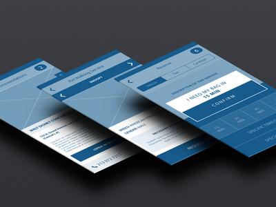 Wireframes iOS7 ux ui app ios ios7 apple wireframes argentina lucas aerolab user