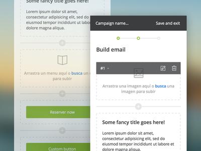 Email builder restorando argentina lucas ui ux edition responsive mobile restaurant campaign builder email