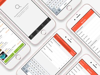 Restorando iOS Search v1.0 argentina restorando app flow search ui design ux ui ios