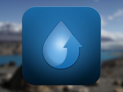 Ios icon waterup