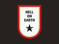 Hell On Earth - Wine Label Concept