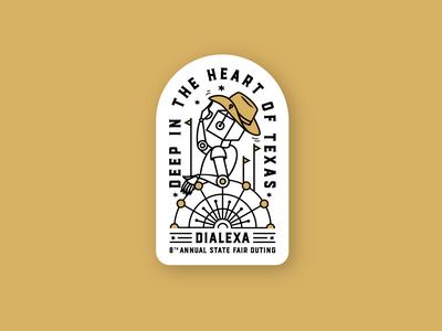 Dialexa State Fair Sticker