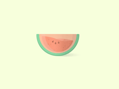 Water Watermelon fruits fresh summer fruit vectorart minimal vector illustration graphicdesign graphic design