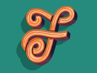 Letter Studies — F