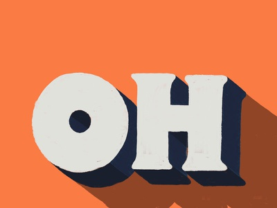 Oh daily type doodle design sketch type lettering