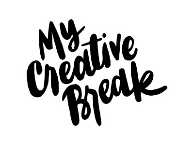 My Creative Break hand lettering logo logodesign logo design brushlettering hand lettering handlettering brush lettering lettering logo