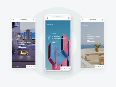 Furniture App Banner UI