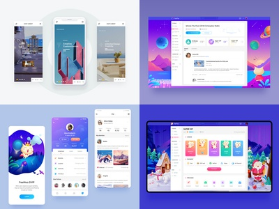 Top4Shots on @Dribbble from 2018