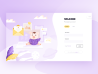 Login design for spotted pig