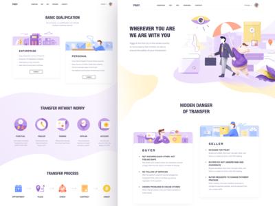 2 Piggy Pages UI Design