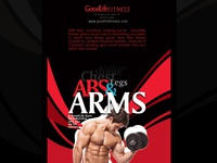 Flyer for GoodLife Fitness