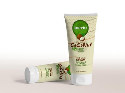 Cream Tube Design illustration tube design brand design