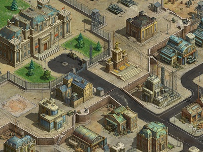 Base map maps mobile game game asset game artist isometric illustration isometric art isometric illustration game art game design concept art concept building art architecture