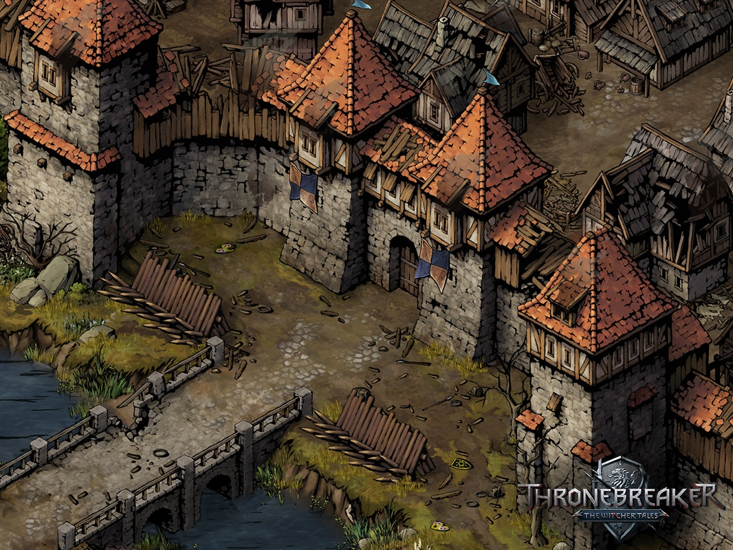 Concept Art For Medieval Towns