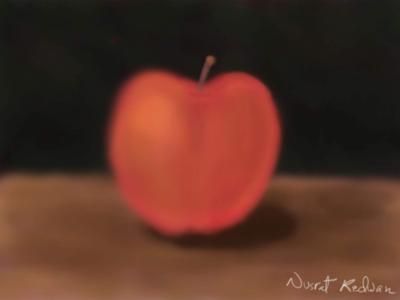 Digital painting-🍎