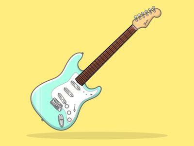 Phum Viphurit's 1965 Fender Stratocaster