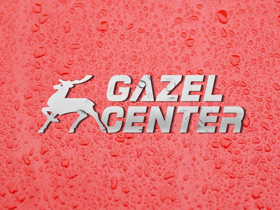 Gazel Center center gazelle car logo branding