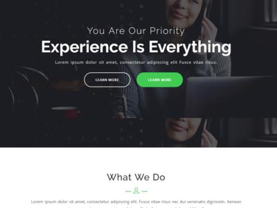 Srk - One Page Parallax WordPress Theme