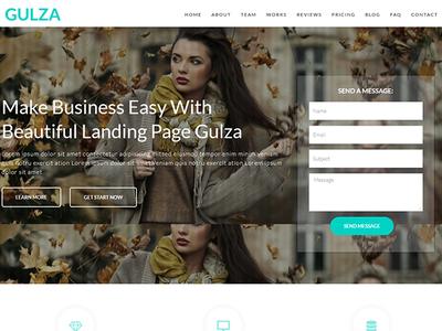 Gulza Lite - Free Easy Startup WordPress Theme