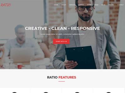 Ratio Lite - Free Material Design WordPress Theme