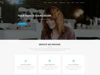 Isabella - Digital Agency One Page WordPress Theme