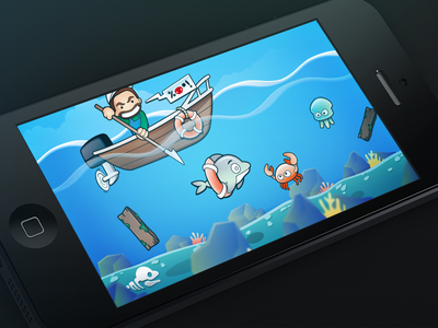 Dolphin Chase game dolphins dolphin awareness ios iphone chase dolphin slaughter development illustration corona concept