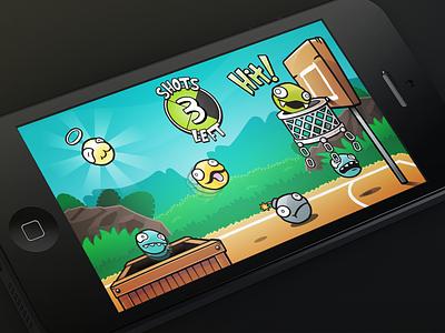Critter Balls game illustration ios iphone concept corona development casual critter balls