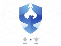 Logo play: Shield & Eagle fusion