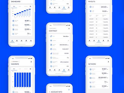 Bitcoin maining app apps development app apps design icon design apps screen bitcoin appstore uiux mobile app development ux mobile app design bitcoin app mobile apps mobile app ui