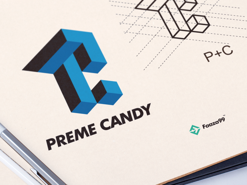 Preme Candy brand sales branding streatwears sneakers authentic logo design logotype logo
