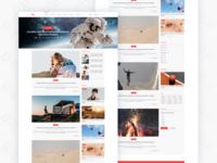 ooBlog :: PostFeed web Page ::  Free Download XD File