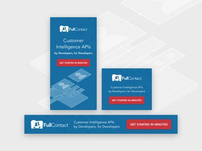FullContact API Banner Ads