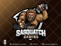 logo for Crazy Sasquatch Gaming