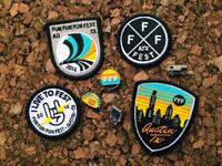 Fff9 patchespins